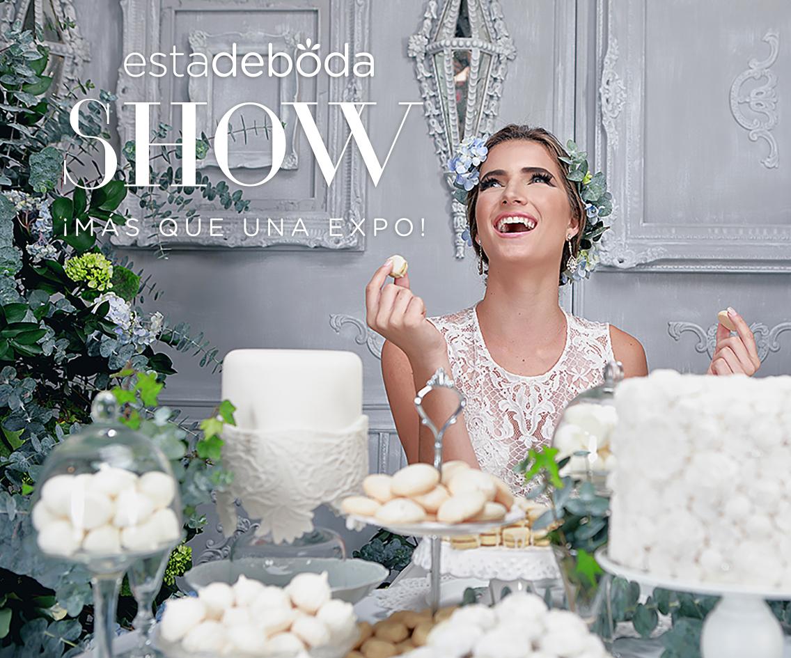 Estadeboda SHOW 2017 vuelve para acompañar a las novias a dar el ¡sí!