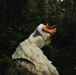 ¡Trash the dress!