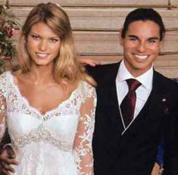 La boda de Julio Iglesias Junior