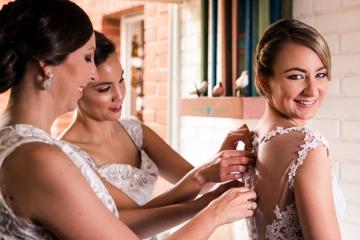 Maquillaje  y estilismo de novia