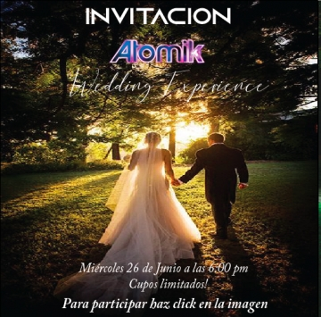 Invitación al evento: Wedding Experience