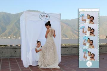 Cabina Fotográfica móvil para bodas