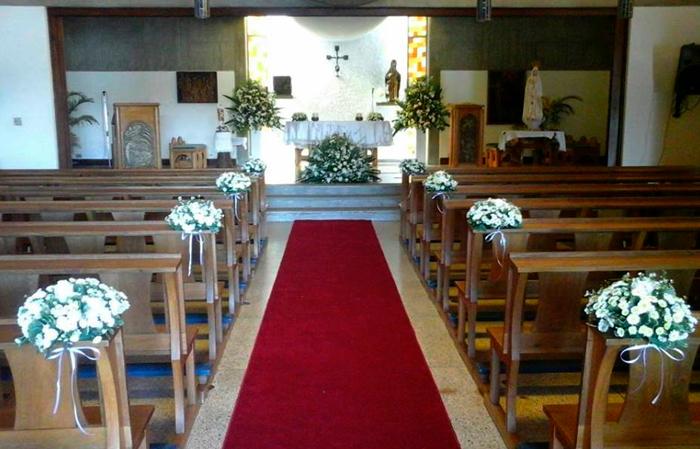 Ideas para decorar el pasillo de tu ceremonia
