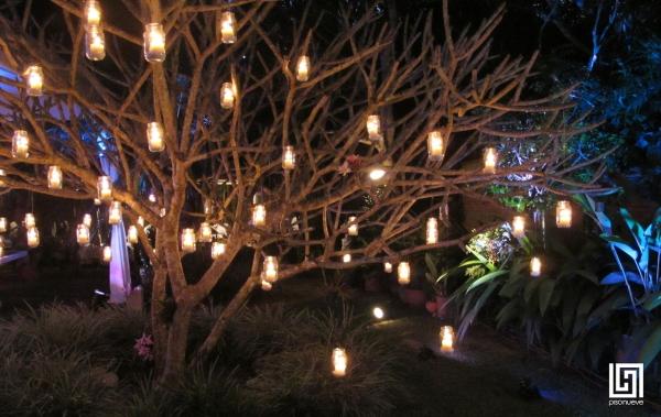 árbol Con Luces Para Decoración De Bodas Estadeboda