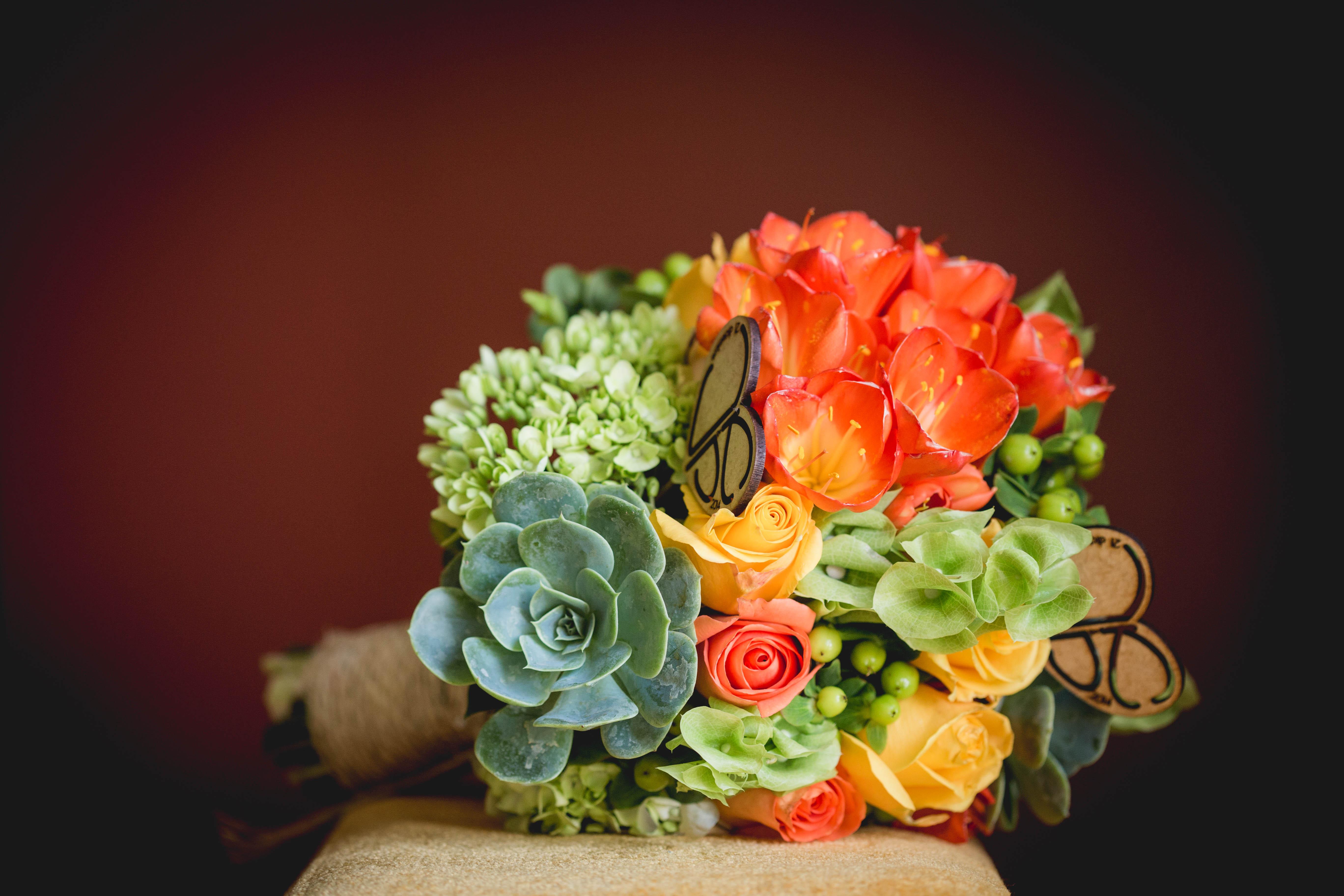Cintillo de flores para el cortejo